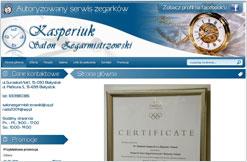 Salon Zegarmistrzowski Kasperiuk